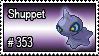 353 - Shuppet by PokeStampsDex