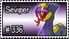 336 - Seviper by PokeStampsDex