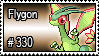 330 - Flygon by PokeStampsDex