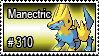 310 - Manectric by PokeStampsDex