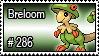 286 - Breloom by PokeStampsDex