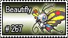 267 - Beautifly by PokeStampsDex