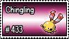 433 - Chingling by PokeStampsDex