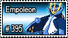 395 - Empoleon by PokeStampsDex