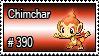 390 - Chimchar by PokeStampsDex