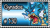 130 - Gyrados by PokeStampsDex