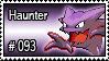 093 - Haunter by PokeStampsDex