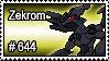 644 - Zekrom by PokeStampsDex