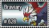 628 - Braviary by PokeStampsDex