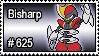 625 - Bisharp by PokeStampsDex