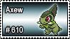 610 - Axew by PokeStampsDex