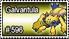596 - Galvantula by PokeStampsDex