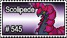 545 - Scolipede by PokeStampsDex