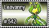 542 - Leavanny by PokeStampsDex