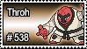 538 - Throh by PokeStampsDex