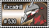 530 - Excadrill by PokeStampsDex
