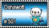 501 - Oshawott by PokeStampsDex