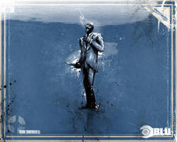 Spy Blu Wallpaper Small by GAVade