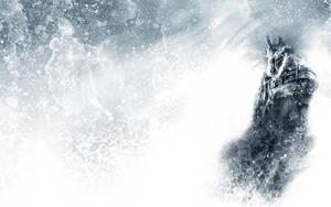 Frozen Arthas Wallpaper by GAVade