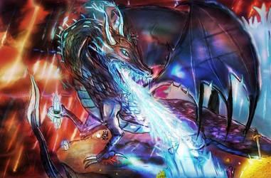 storm dragon by BndDigis