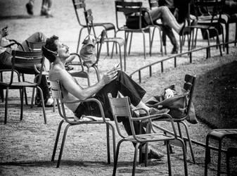 Jardin de Luxembourg by niklin1