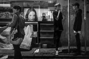 Hong Kong Smoke Break by niklin1