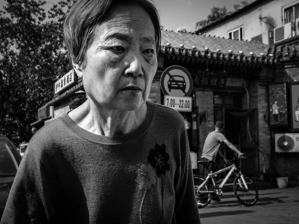 Beijing Street Portrait #5 by niklin1