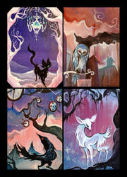 MORE paintings for sale. by IceandSnow