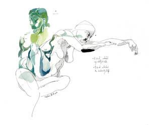 Figure / Life (Painting) [04] Helena by ziinyu