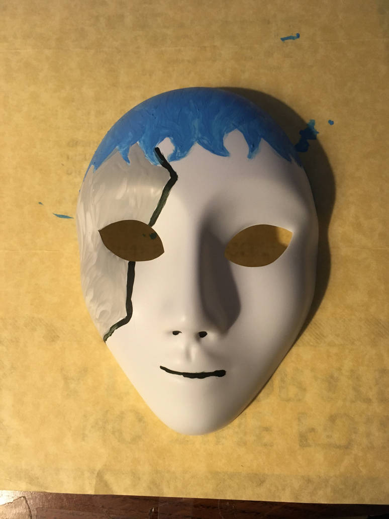 Handpainted Sally Face Mask by Sclasspsycho