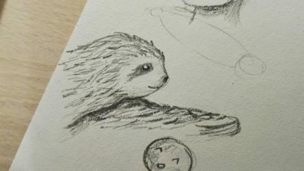 sloth  by iidontknoww