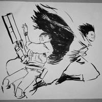 Akira fan art by BRiZL
