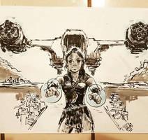 Valkyrie fan art by BRiZL