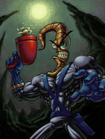 EARTHWORM JIM by bboykrillin