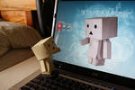 Danbo Finds Himself by DiFoGA