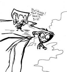 Two more levels, Dib by Lilostitchfan