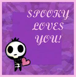 Spooky loves you by Lilostitchfan