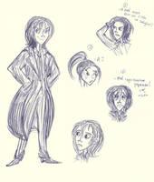 Some stupid Nathaniel sketches by Lilostitchfan