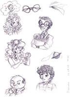 Summer sketches by Lilostitchfan