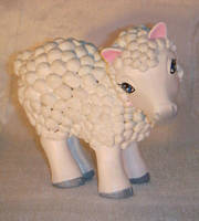 My Little Pony Custom Sheep by colorscapesart