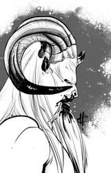 Monstober 2016 30 Krampus by davehamann
