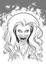 Monstober 2016 20 Vampire by davehamann