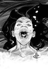 Monstober 2016 31 Mermaid by davehamann