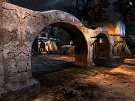 Morrowind landscape 3 by Ogienko