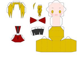 ed papercraft by narupikalover