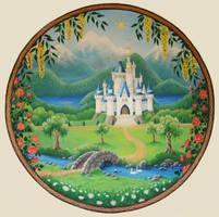Fairytale Mural by Lhox