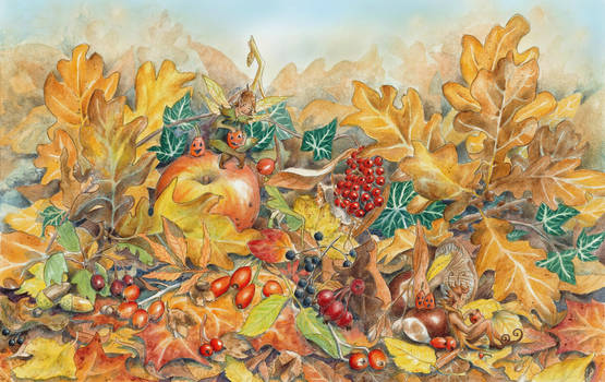 Autumn Medley by Lhox