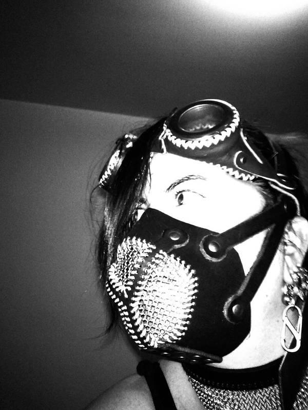 steampunck mask and googles by ShamanMagic