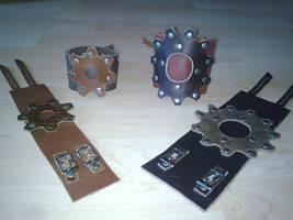 gear cuffs by ShamanMagic