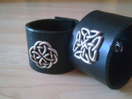celtic concho cuffs by ShamanMagic